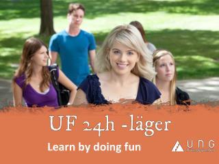 Learn by doing fun