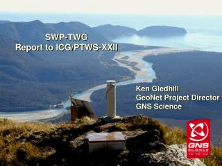SWP-TWG Report to ICG/PTWS-XXII