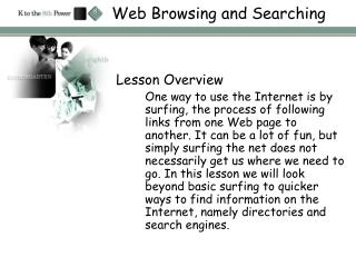 Web Browsing and Searching