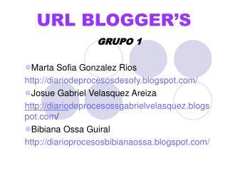 URL BLOGGER'S