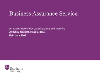 Business Assurance Service