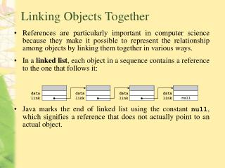 Linking Objects Together