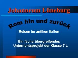 Johanneum L�neburg