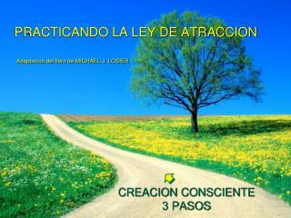 PRACTICANDO LA LEY DE ATRACCION  Adaptación del libro de MICHAEL J. LOSIER