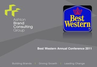 Best Western Annual Conference 2011