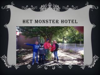 HET MONSTER HOTEL