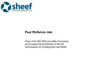 Paul  McKelvie  obe