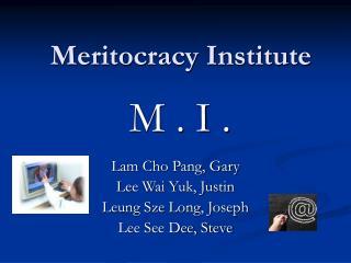 Meritocracy Institute