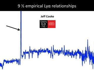 9 ½ empirical Lyα relationships