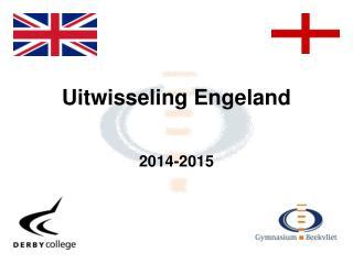 Uitwisseling Engeland