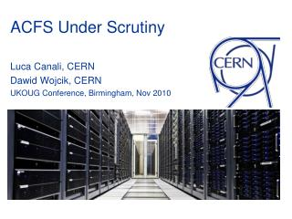 ACFS Under Scrutiny