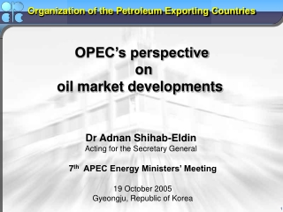 Planning  and Vision Implementation in an Oil Dominated Economy