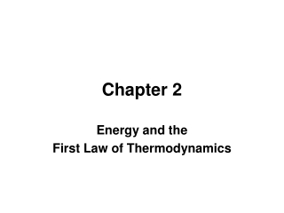 Chapter 4: Thermodynamics and Engine Cycles