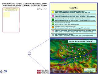 5° CENSIMENTO GENERALE DELL'AGRICOLTURA 2000 (1)