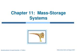 Chapter 11:  Mass-Storage Systems