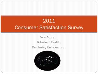 2011 Consumer Satisfaction Survey