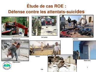 Étude de cas ROE: Défense contre les attentats-suic ides