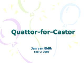 Quattor-for-Castor