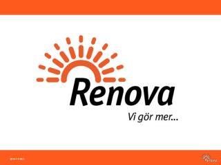 Renova  – miljöföretaget som gör mer