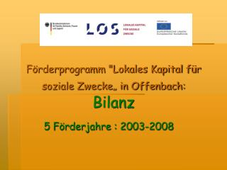 "Förderprogramm ""Lokales Kapital für soziale Zwecke"" in Offenbach: Bilanz"