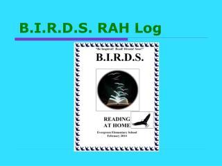 B.I.R.D.S. RAH Log