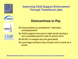 "Disincentives to Pay Incarceration is considered  "" voluntary unemployment """