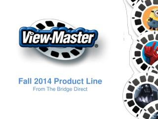 Fall 2014 Product Line From The Bridge Direct