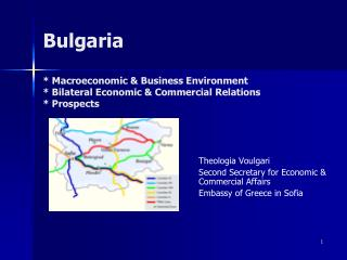 Theologia Voulgari Second Secretary for Economic & Commercial Affairs  Embassy of Greece in Sofia