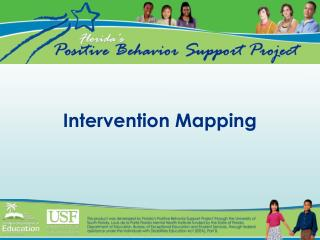 Intervention Mapping