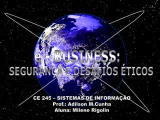 e - BUSINESS: