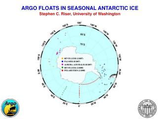 ARGO FLOATS IN SEASONAL ANTARCTIC ICE