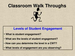 Classroom Walk Throughs