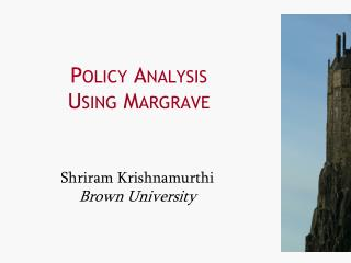 Policy Analysis Using Margrave