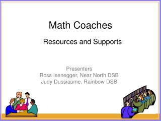 Math Coaches