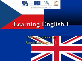 Learning English I