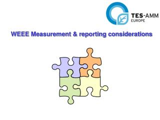 WEEE Measurement & reporting considerations