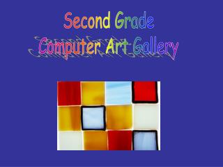 Second Grade Computer Art Gallery