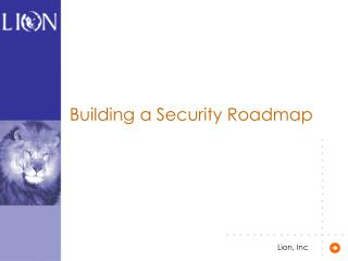 Building a Security Roadmap