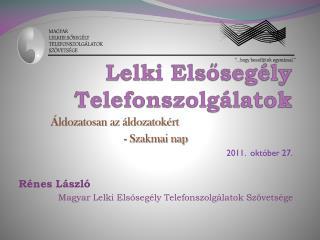 Lelki Elsősegély Telefonszolgálatok