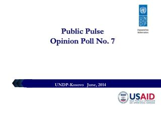 Public Pulse  Opinion Poll No. 7