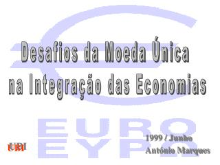 1999 / Junho António Marques