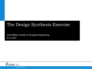 The Design Synthesis Exercise