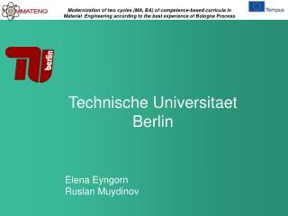 Technische Universitaet Berlin