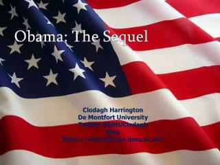 Obama: The Sequel