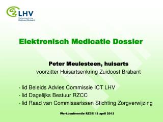Elektronisch Medicatie Dossier