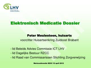 Elektronisch Medicatie Dossier
