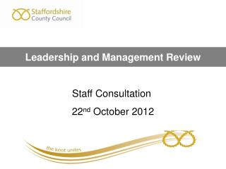 Leadership and Management Review
