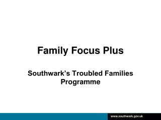 Family Focus Plus