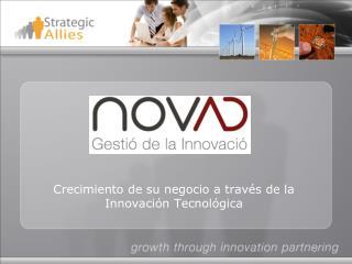 Crecimiento de su negocio a través de la Innovación Tecnológica