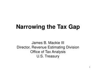 Narrowing the Tax Gap